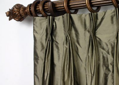 Triple Pinch Pleat Curtain